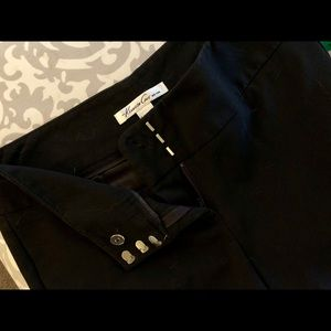 Kenneth Cole New York Black Trousers